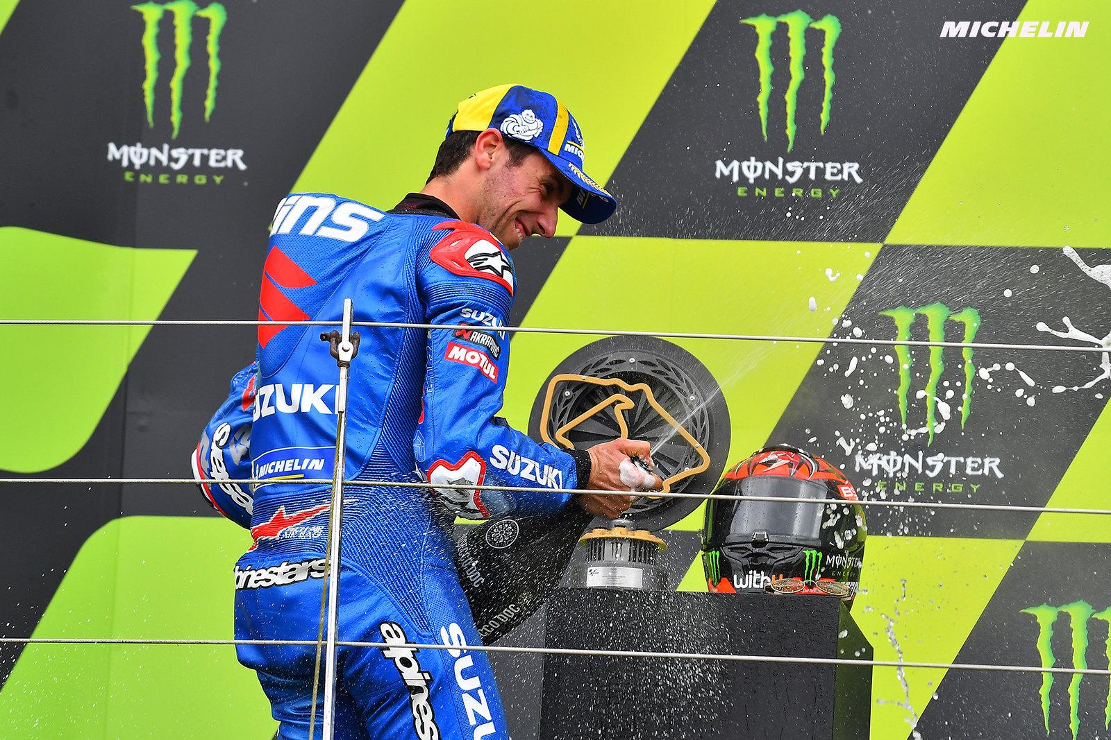 MotoGP2021イギリスGP 2位アレックス・リンス「表彰台獲得出来るレベルだと証明出来た」