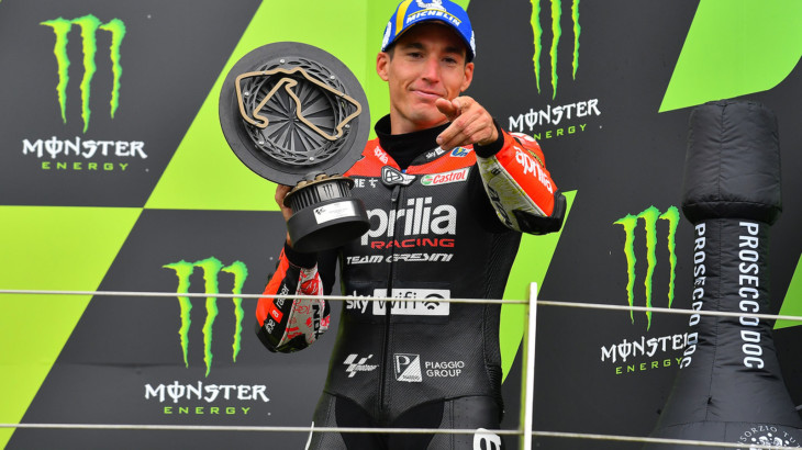 MotoGP2021イギリスGP 3位アレイシ・エスパルガロ「長い道のりで、途中で何度も辞めようと思った」