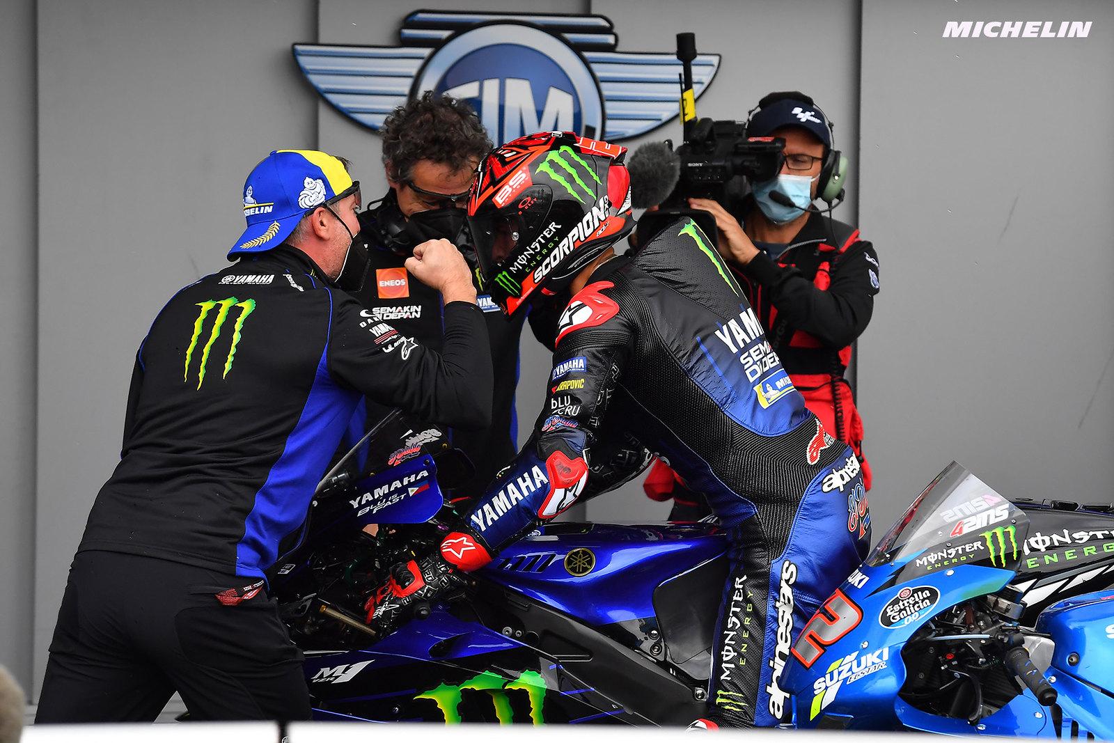 MotoGP2021イギリスGP 優勝ファビオ・クアルタラロ「ミサノあたりからタイトル獲得のことを考えたい」