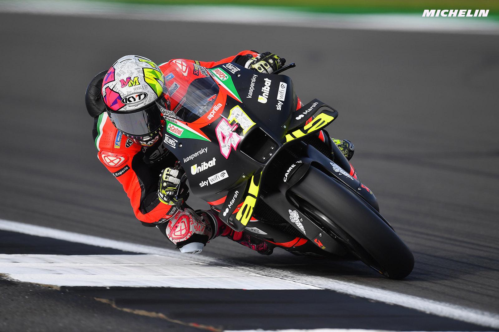 アプリリアレーシングCEO マッシモ・リヴォラ「この表彰台は到達点ではなくスタート地点」