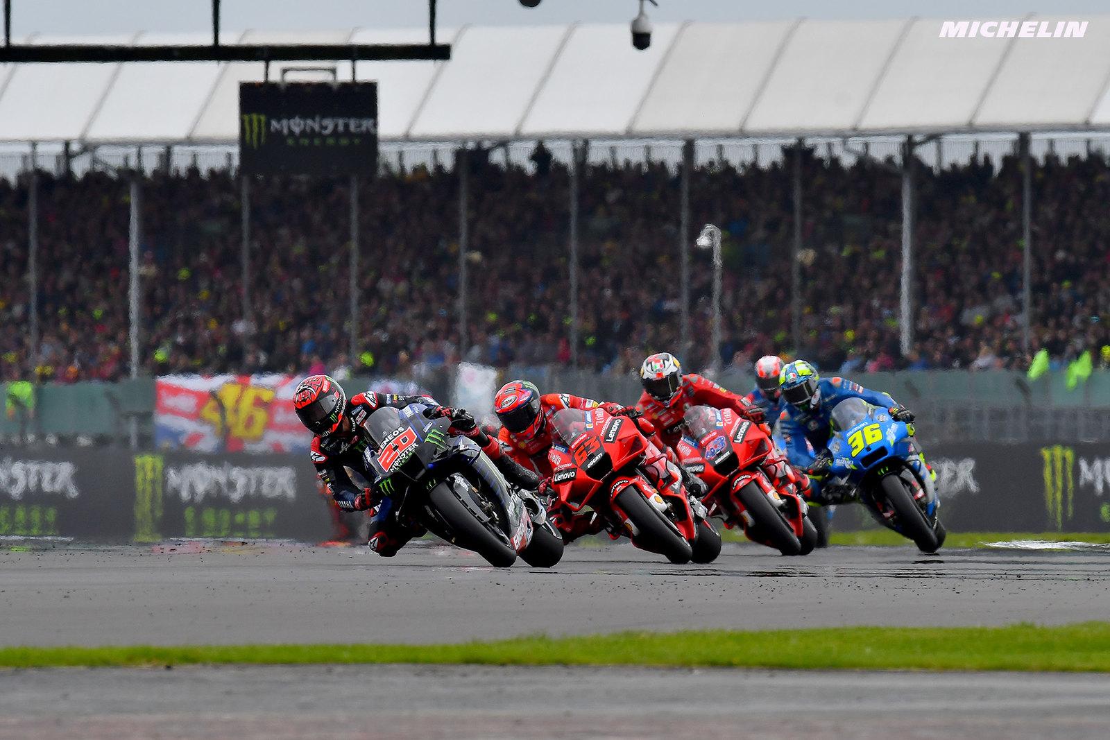 MotoGP2021イギリスGP 14位フランチェスコ・バニャイア「ファビオが既にチャンピオンシップ優勝を決めたようなもの」