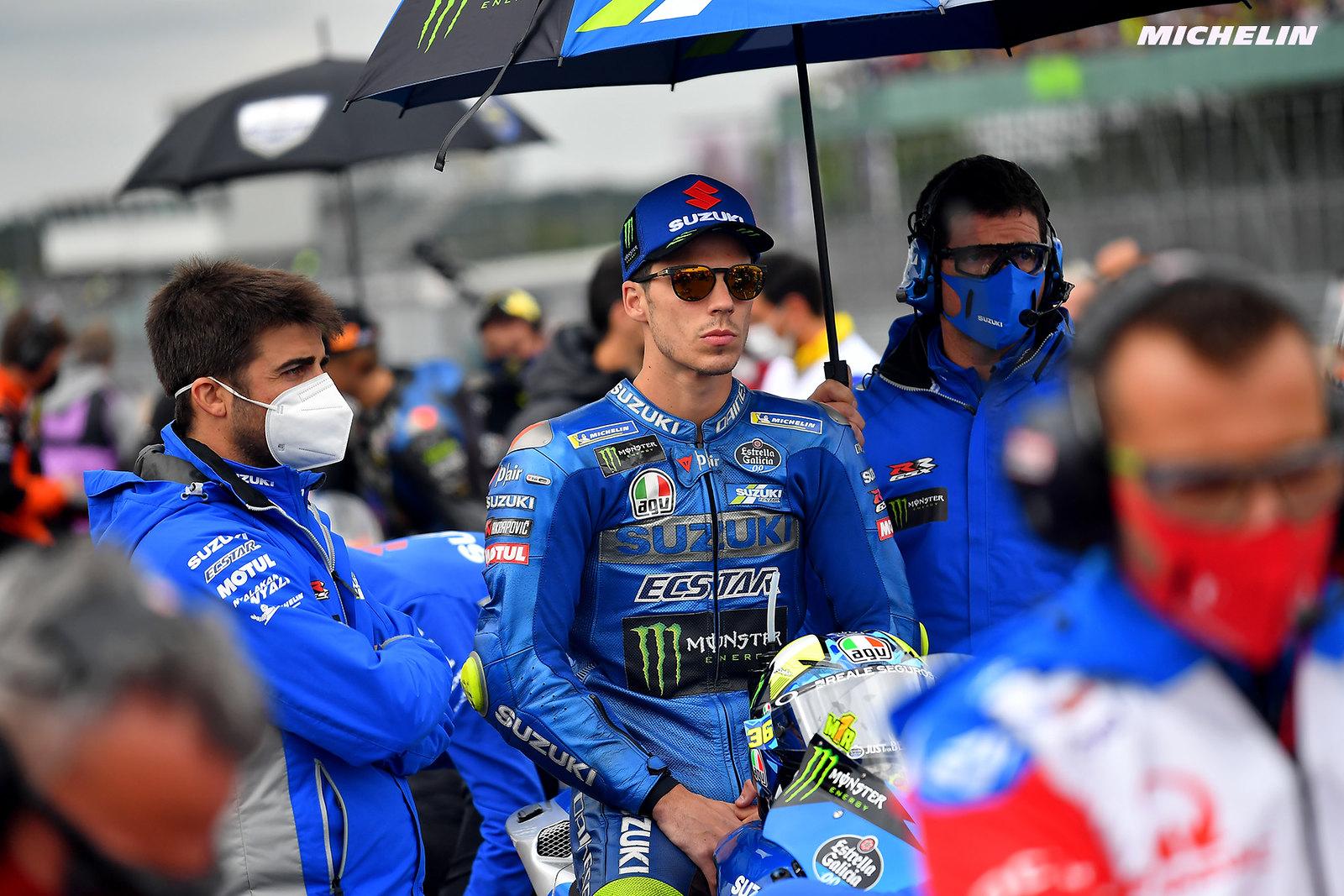 MotoGP2021イギリスGP 9位ジョアン・ミル「終盤はタイヤが終わってしまって何も出来なかった」