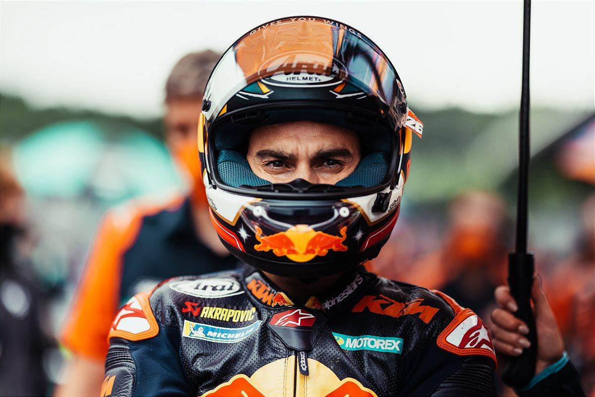 MotoGP2021スティリアGP ダニ・ペドロサ「タイヤの感触は実戦では異なっていた」