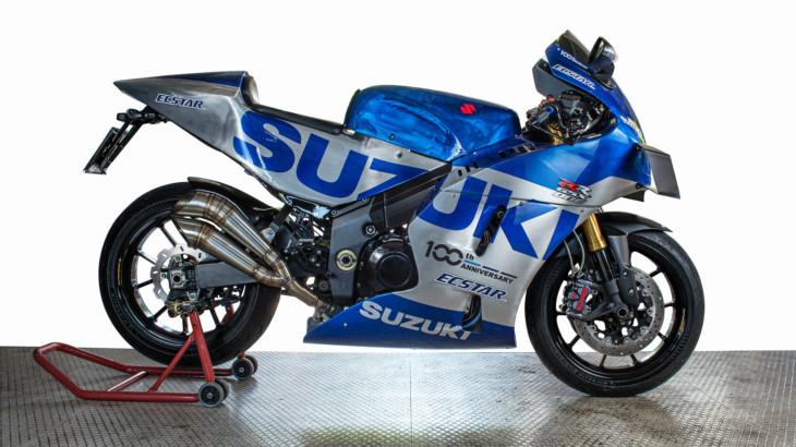 Sakart Design スズキの2020年MotoGPタイトル獲得を記念したスペシャルな1台「GSX-RR ONE」
