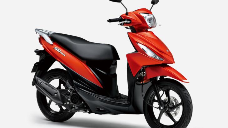 スズキ 14インチ大径ホイールのスクーター「アドレス110」スペシャルエディションとして特別色を設定して発売