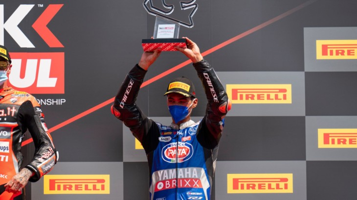 WSBKナバラ戦 レース1 3位トプラック・ラズガトリオグル「チャンピオンシップにおいてポイントを獲得出来たことが嬉しい」