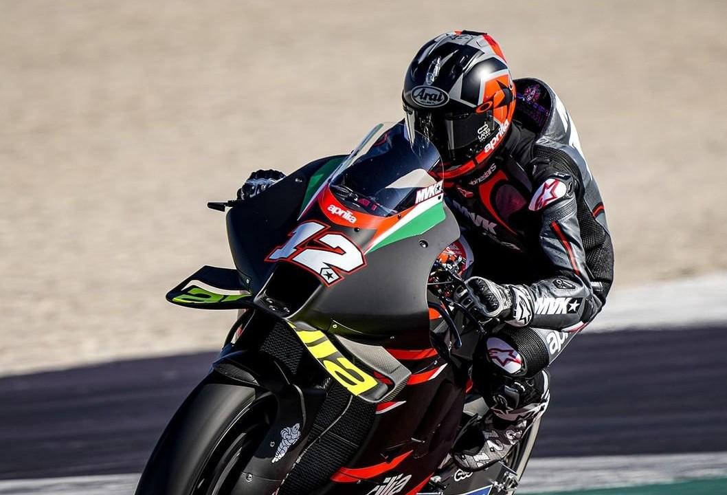 マーべリック・ビニャーレス ミサノ・サーキットでRS-GPを初テスト
