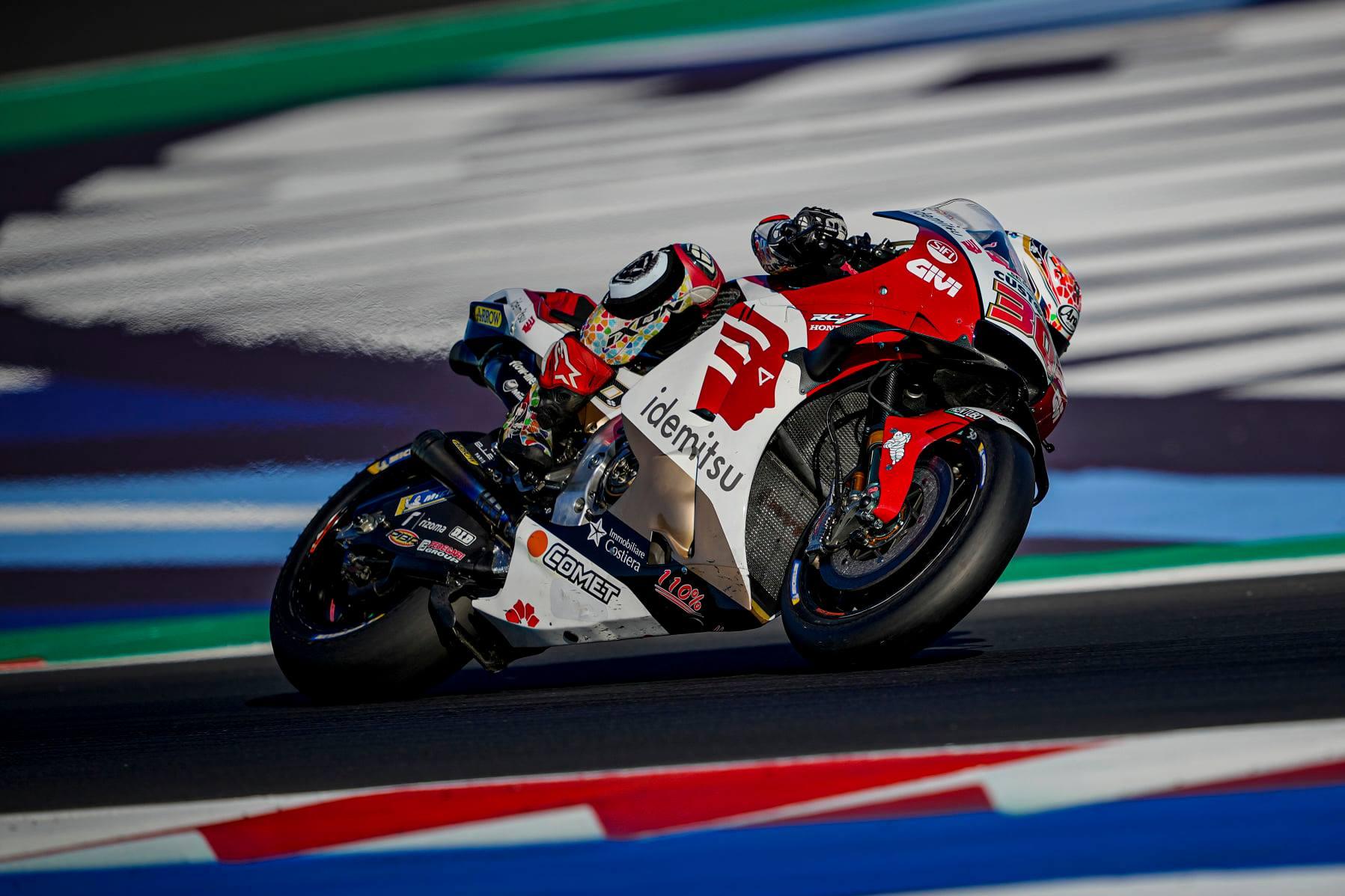 MotoGP2021ミサノテスト 中上 貴晶「最後にベストバランスを見つけることが出来た」