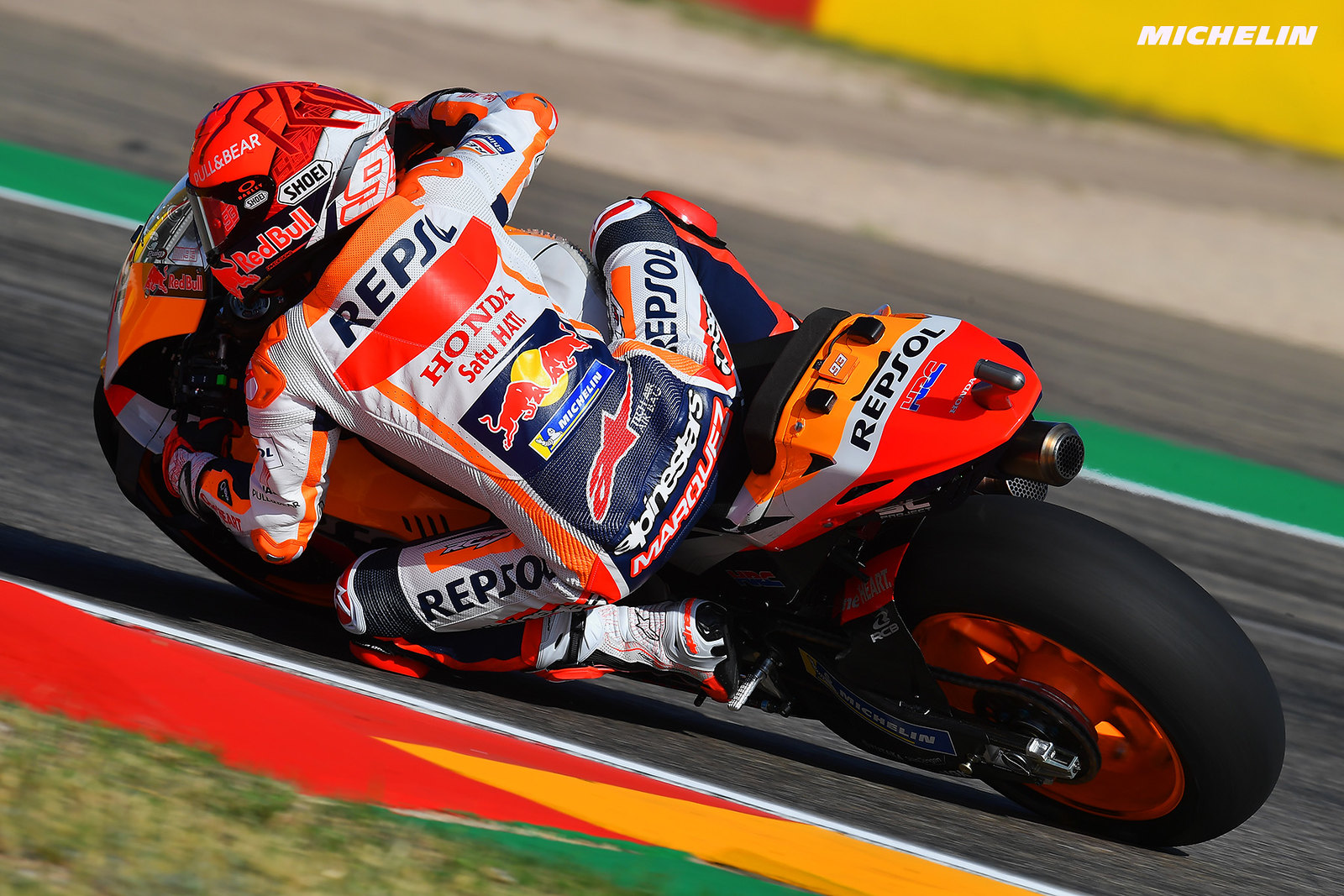 MotoGP2021アラゴンGP 初日総合8位マルク・マルケス「今日は自分の転倒に頭にきた」