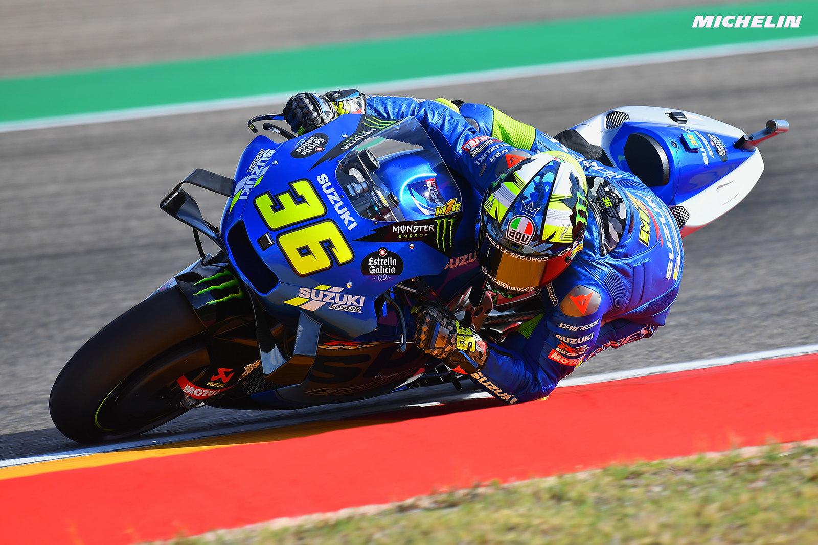 MotoGP2021アラゴンGP  初日総合21位ジョアン・ミル「セットアップを作り込んでいるところ」