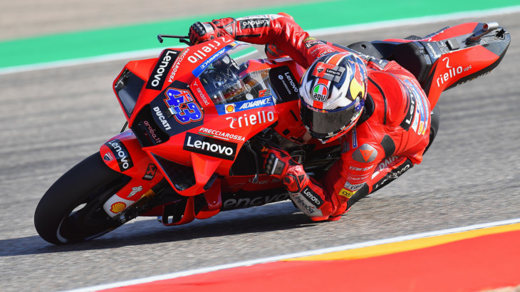 MotoGP2021アラゴンGP 初日総合1位ジャック・ミラー「路面のグリップの高さに驚いた」