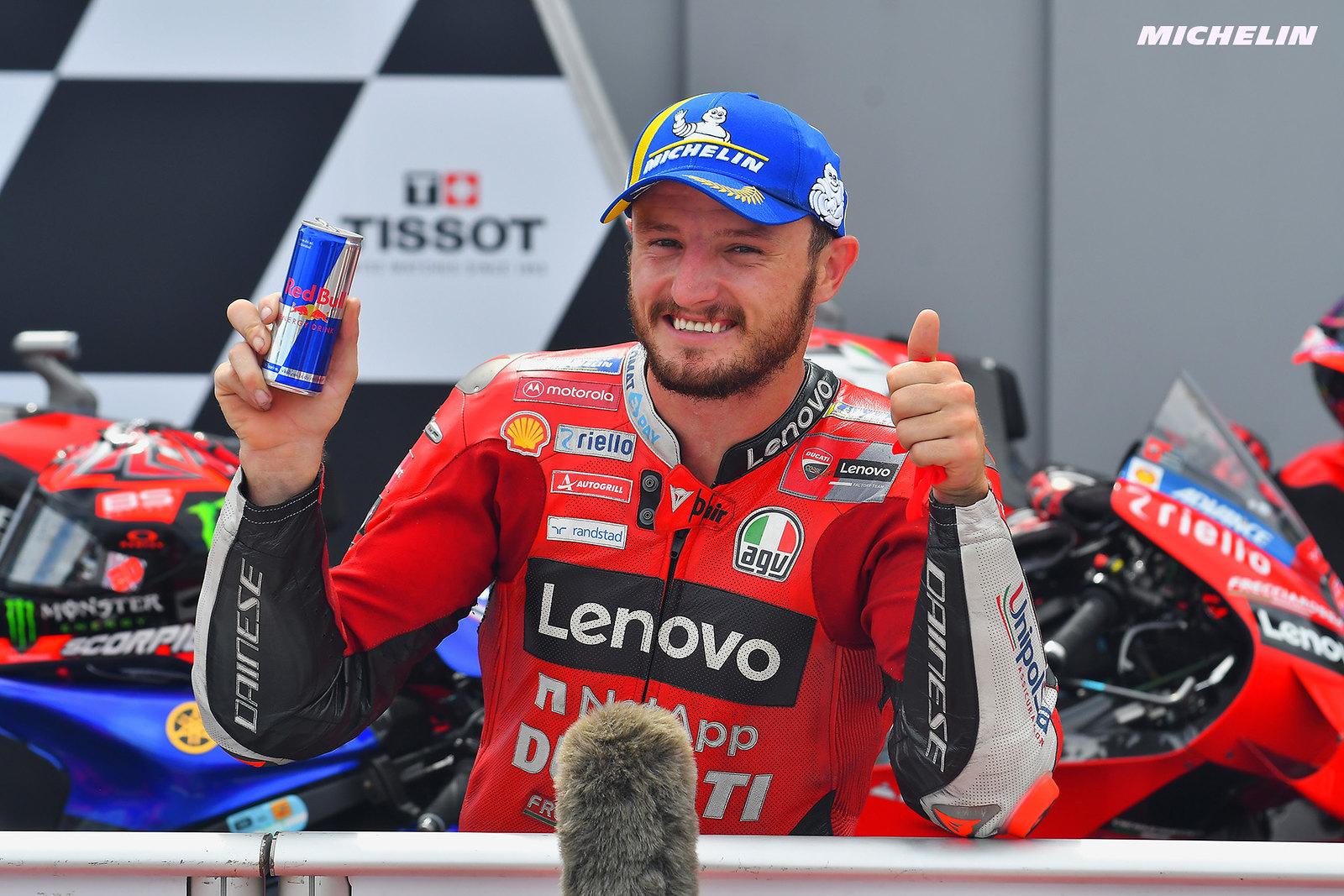アラゴンGP 予選2位ジャック・ミラー「いかにバイクが改善されたかを実感している」
