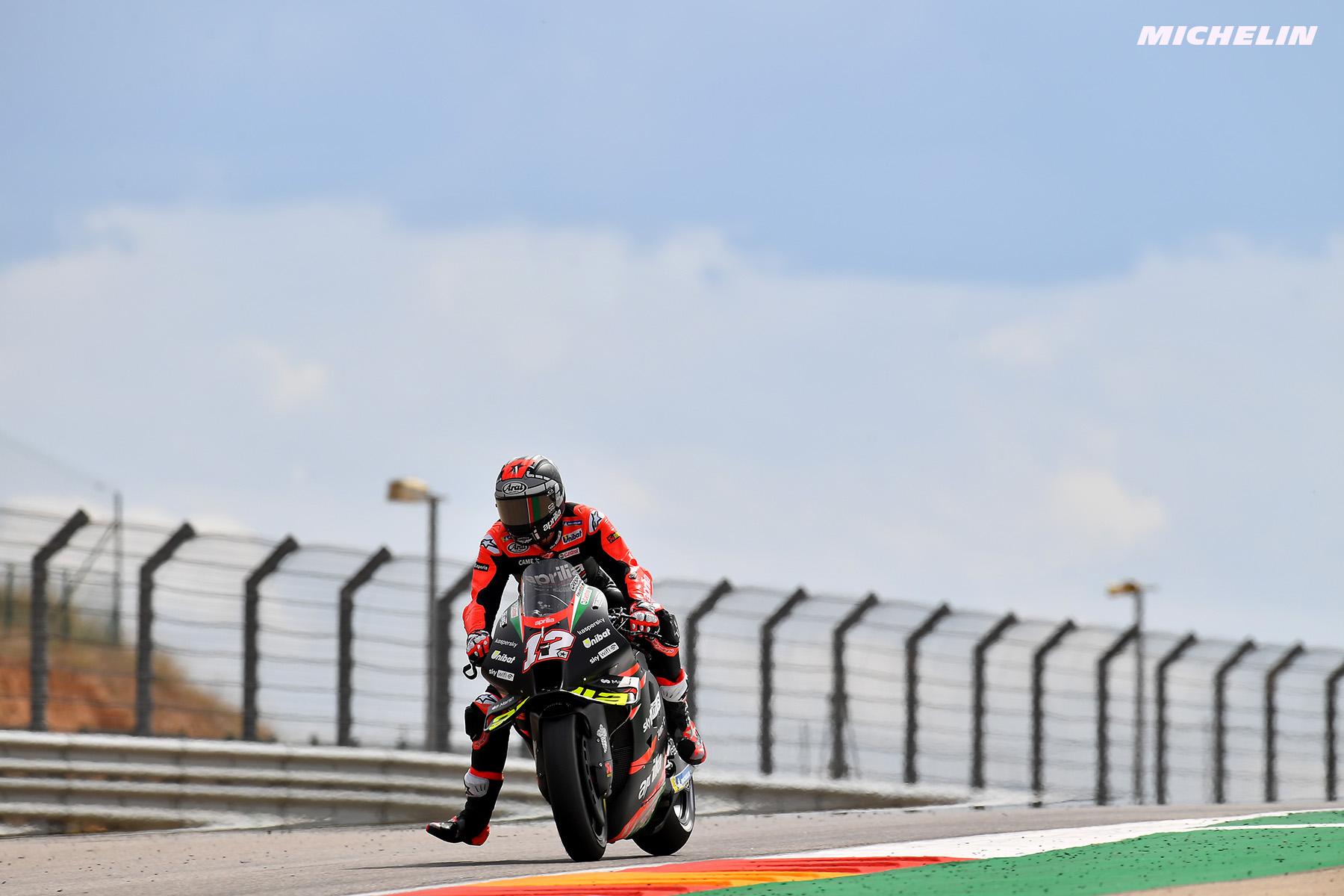 MotoGP2021アラゴンGP マーべリック・ビニャーレス「今までの弱みが強みに変わっている」