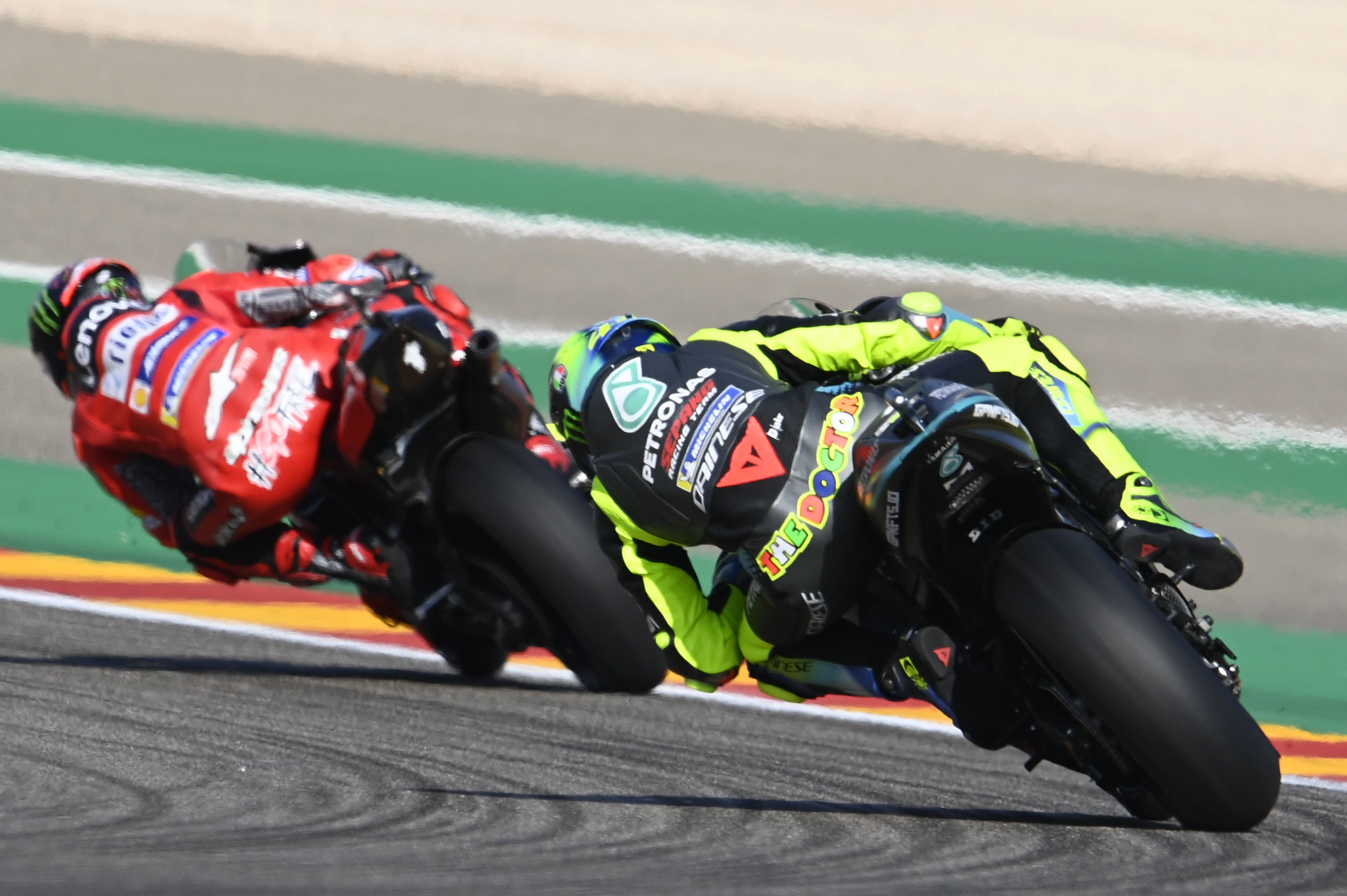 MotoGP2021アラゴンGP バレンティーノ・ロッシ「ペッコにはハード/ソフトだと言って聞かせた」