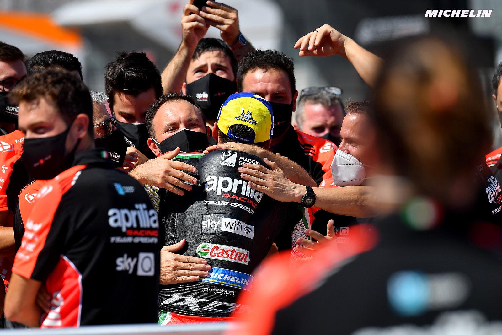 MotoGP2021アラゴンGP 4位アレイシ・エスパルガロ「表彰台を味わってしまうと4位は十分ではない」