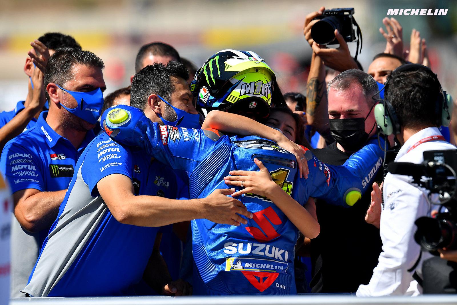 MotoGP2021アラゴンGP 3位ジョアン・ミル「ライバルと比較して加速性の改善が必要」