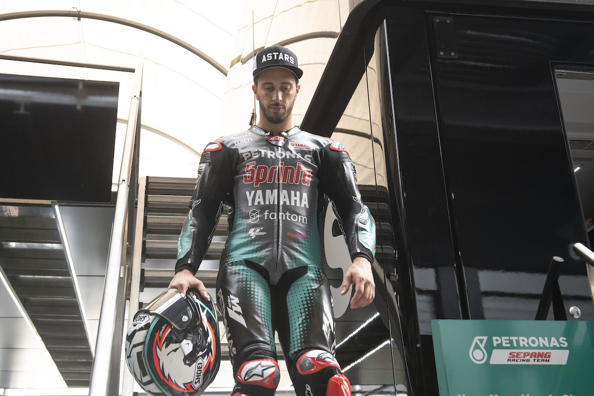 MotoGP2021 アンドレア・ドヴィツィオーゾ「ずっとヤマハのファクトリーバイクでレースがしたかった」