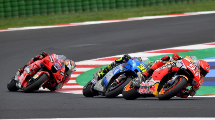 MotoGP2021サンマリノGP 4位マルク・マルケス「最終ラップのチャンスを逃さなかった」