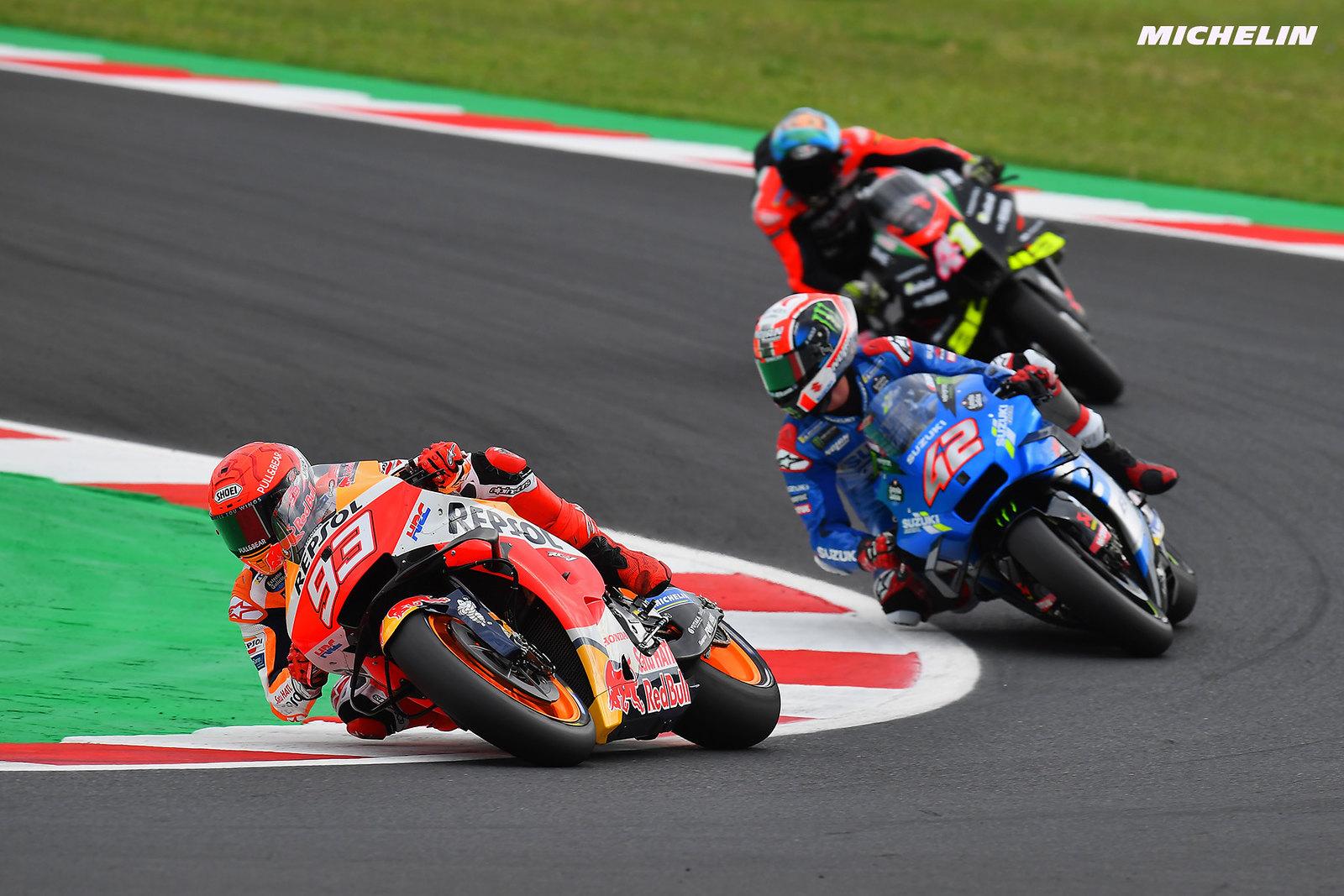 MotoGP2021サンマリノGP マルク・マルケス「最終ラップのチャンスを逃さなかった」