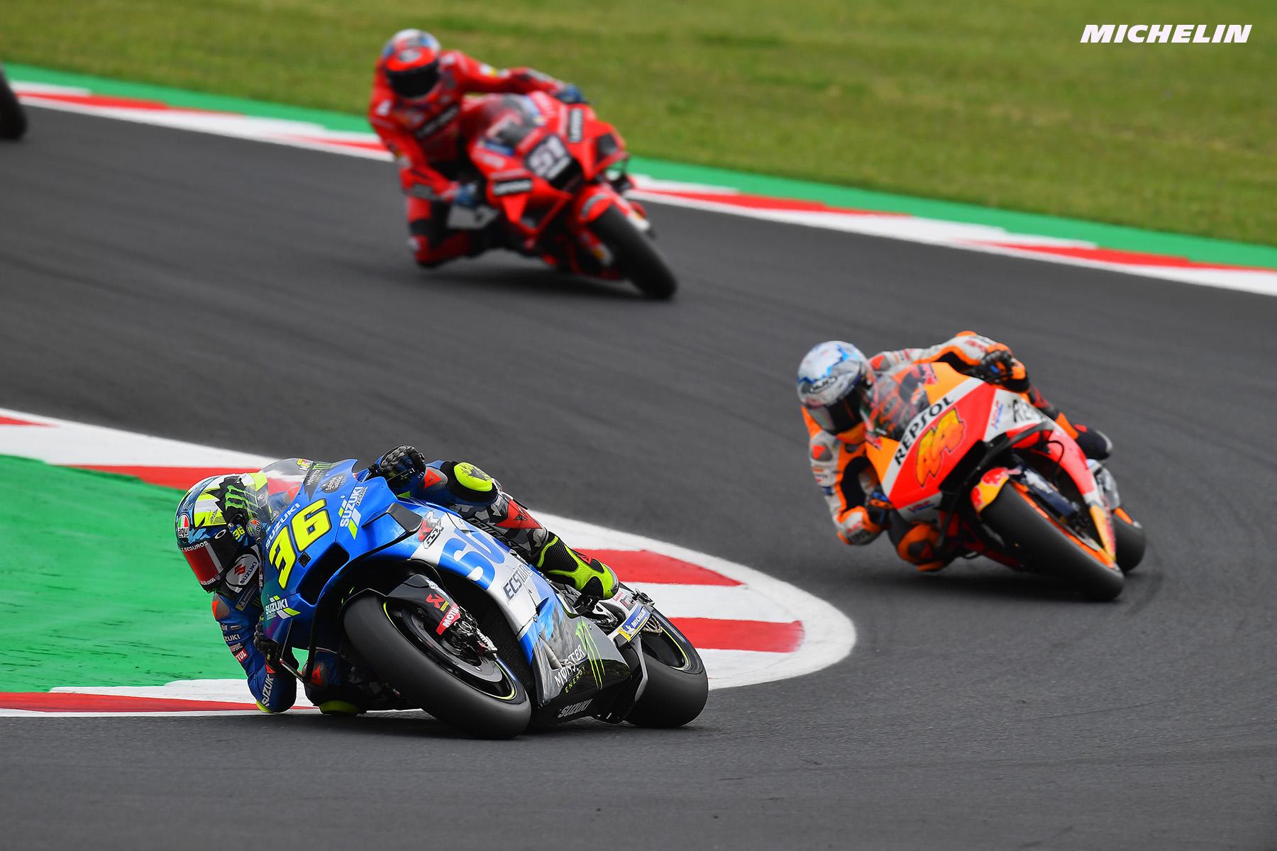 MotoGP2021サンマリノGP 6位ジョアン・ミル「楽しめたのは最終ラップだけ」
