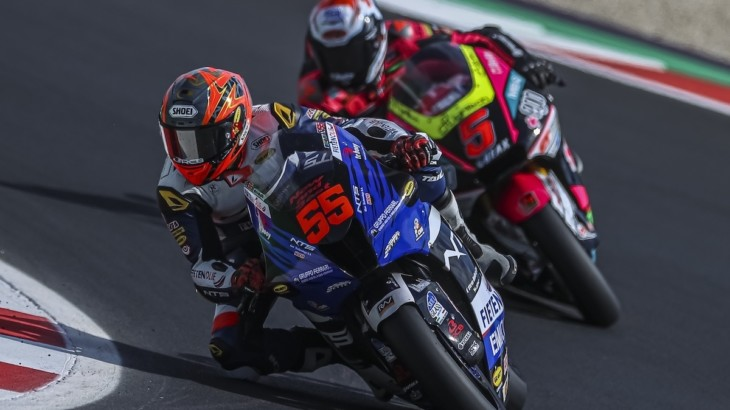 NTS RW Racing GP サンマリノGP公式練習1、公式練習2レポート
