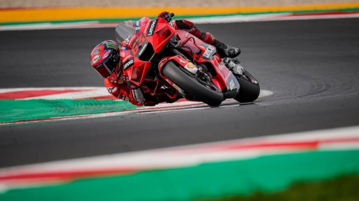 MotoGP2021ミサノテスト フランチェスコ・バニャイア「データを分析して来年活用出来るか判断したい」