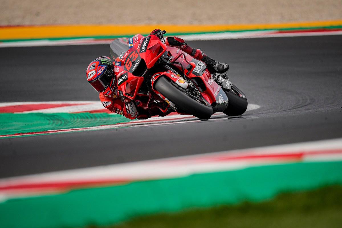 MotoGP2021ミサノテスト フランチェスコ・バニャイア「データを分析して来年から活用出来るか判断したい」