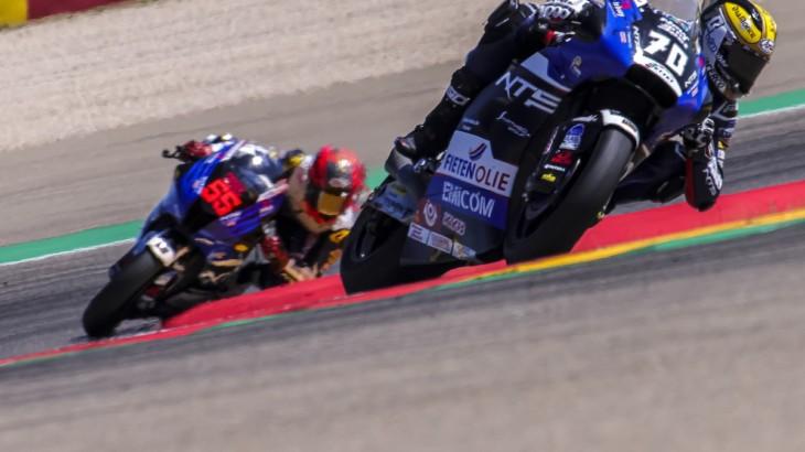NTS RW Racing GP アラゴンGP公式練習1、公式練習2レポート