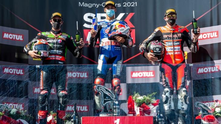 WSBKマニクール戦 レース2優勝 トプラック・ラズガトリオグル「自分にとっては3勝したのも同じ」