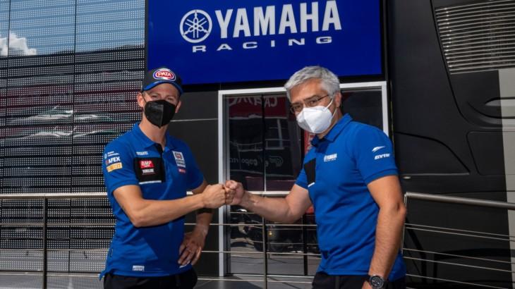 アンドレア・ロカテッリ ヤマハと2023年まで契約を延長、2023年末までWorldSBK参戦で合意