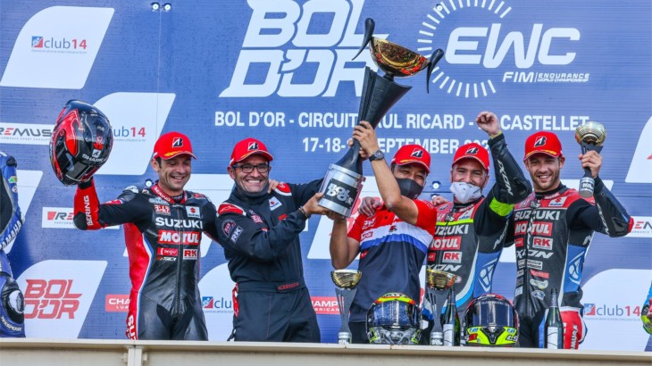 世界耐久選手権(EWC) ヨシムラSERTモチュールが優勝、チャンピオンシップでも首位に立つ