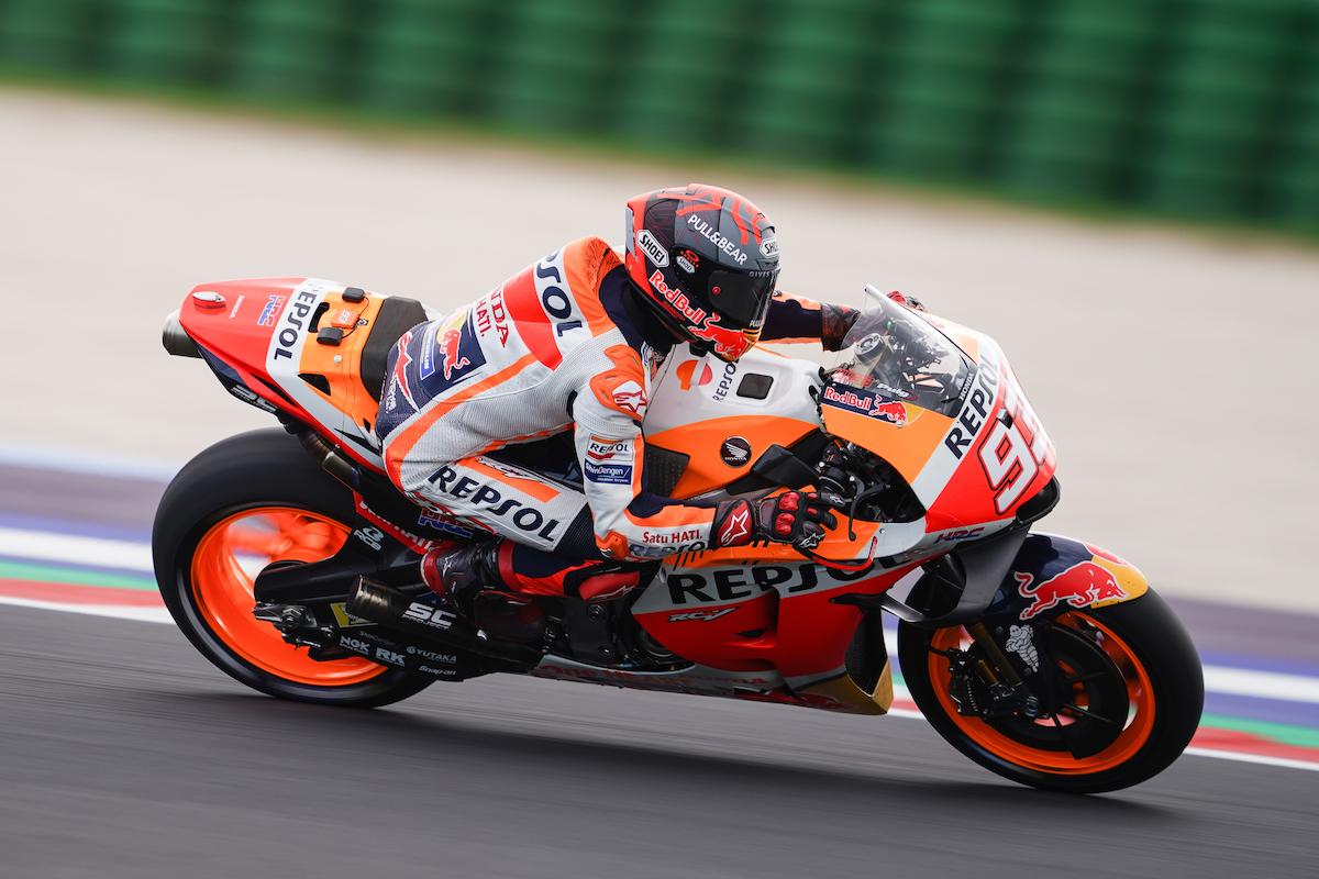 MotoGP2021ミサノテスト マルク・マルケス「22年型プロトタイプのテストが出来た」