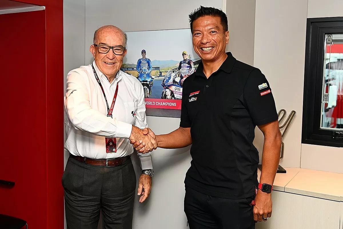 ペトロナス・ヤマハ・SRT改め、RNF MotoGP Racingが誕生 2022年から2026年までMotoGPに参戦