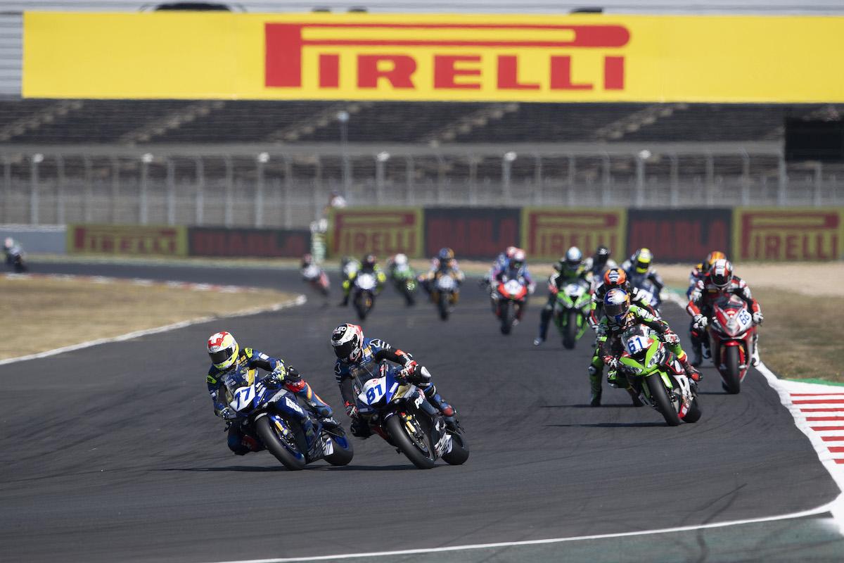 ピレリ(Pirelli)レースレビュー FIM スーパーバイク世界選手権(SBK)フランス戦スーパーポールレース、レース2
