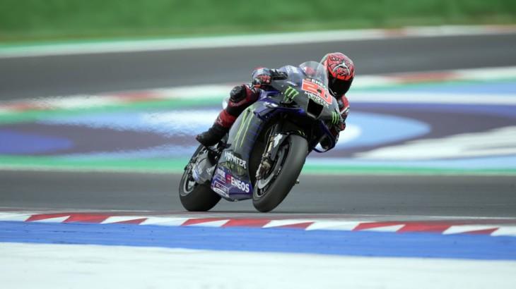 MotoGP2021ミサノテスト ファビオ・クアルタラロ「2021年型のテストを重点的に行った」