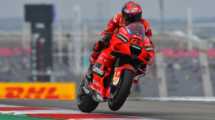 MotoGP2021 フランチェスコ・バニャイア「チャンピオンシップは諦めない」