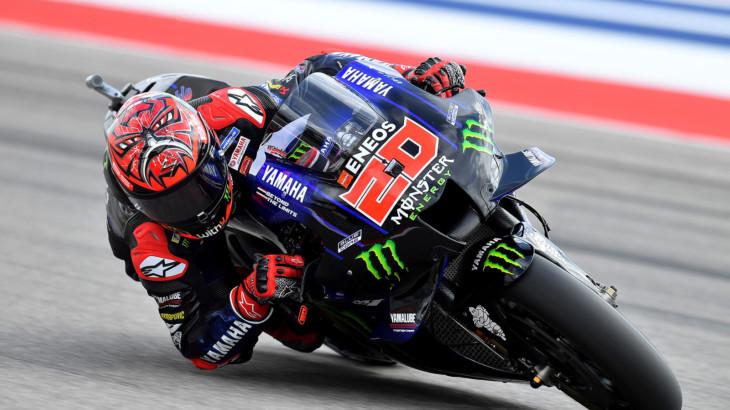 MotoGP2021エミリア・ロマーニャGP ファビオ・クアルタラロ「結果を出したいがスマートにレースをしたい」