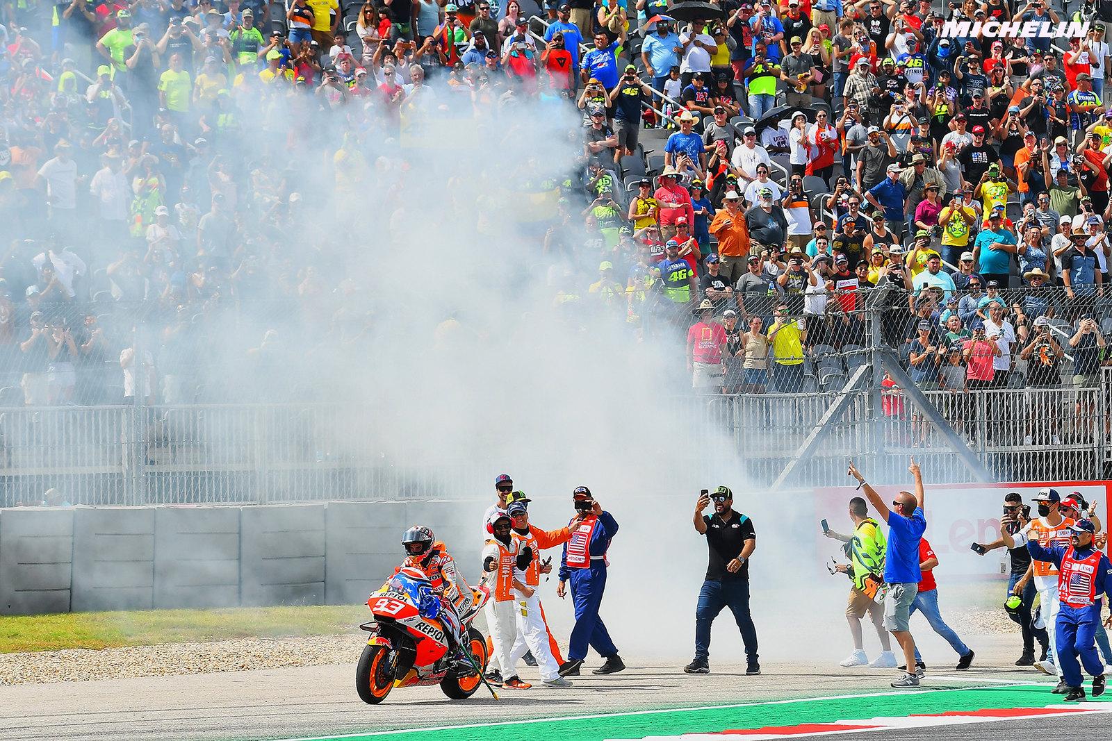 MotoGP2021アメリカズGP 優勝マルク・マルケス「昨日夢見た通り完璧なレースだった」