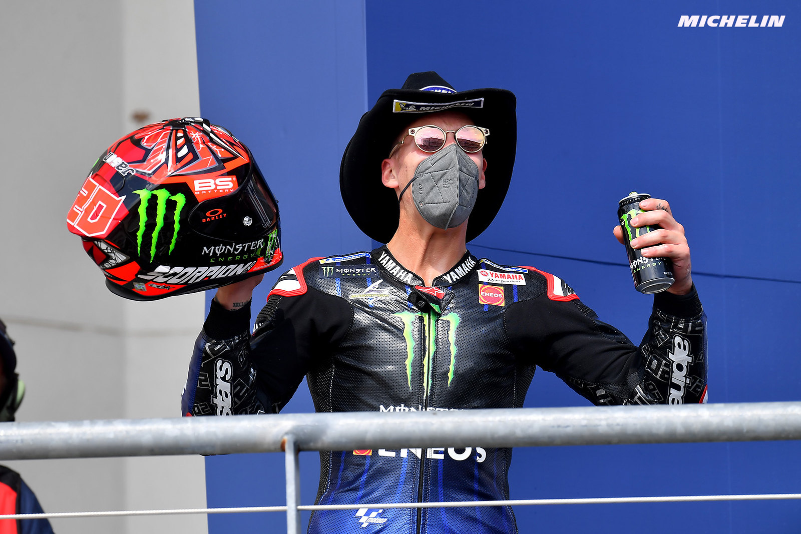 MotoGP2021アメリカズGP 2位ファビオ・クアルタラロ「この2位は優勝のように嬉しい」