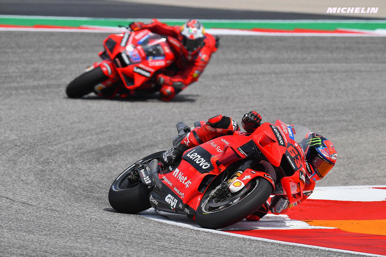 MotoGP2021アメリカズGP 3位フランチェスコ・バニャイア「出来る限り最大の走りだった」